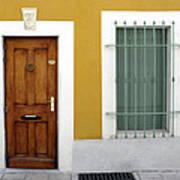 French Doorway Poster