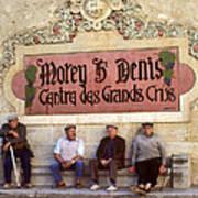 French Gentelman Poster by Mel Felix