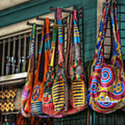 French Market Bags Poster