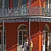 French Quarter Tete A Tete Poster