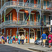French Quarter Wandering 3 Poster