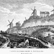 French Revolution Paris Poster