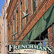 Frenchman's Market Poster