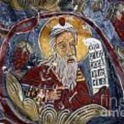 Fresco At The Sumela Monastery Turkey Poster by Robert Preston
