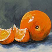 Fresh Orange IIi Poster by Torrie Smiley