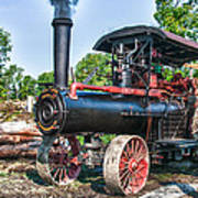 Frick Steam Tractor Poster