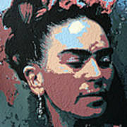 Frida Kahlo In Colour Poster