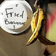 Fried Bananas Poster