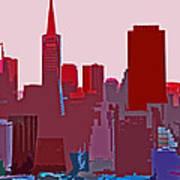 Frisco Skyline Poster