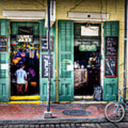 Fritzels Bar On Bourbon Street Poster
