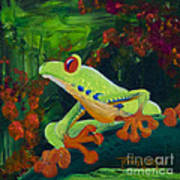 Frog Heaven Poster