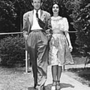 From Left, Spouses Robert Walker Poster
