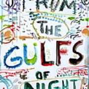 From The Gulfs Of Night Poster