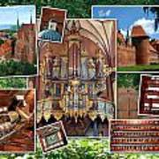 Frombork Montage Poster
