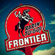 Frontier Land Poster