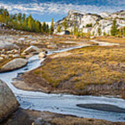 Frozen Enchantments Creek Poster