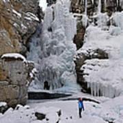 Frozen Falls Poster