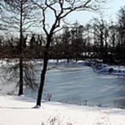 Frozen Pond2 Poster