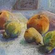 Fruit In Moonlight Poster
