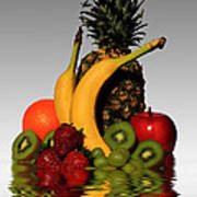 Fruity Reflections - Light Poster