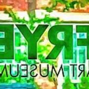 Frye Art Museum Poster