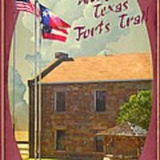 Ft Belknap Historic Site Poster