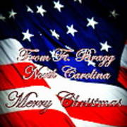 Ft. Bragg - Christmas Poster