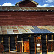 Ft Collins Barn 13553 Poster by Jerry Sodorff