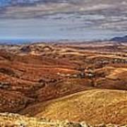 Fuerteventura Iterior Panorama Poster