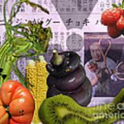 Fukushima Veggies Poster by Megan Dirsa-DuBois