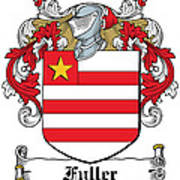 Fuller Coat Of Arms Kerry Ireland Poster
