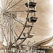 Fun Ferris Wheel Poster
