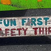 Fun First Poster