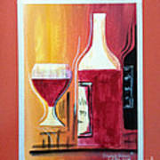 Fun Wine Time Poster