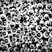 Funny Eyes Background Poster