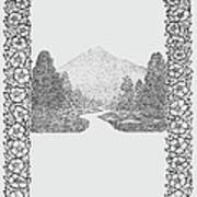 Mountain Walk Border Poster
