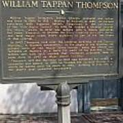 Ga-104-11 William Tappan Thompson Poster