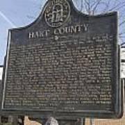 Ga-73-4 Hart County Poster