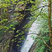 Gainfeld Waterfall In Spring Austria Poster