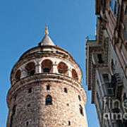 Galata Tower 03 Poster
