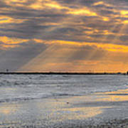 Galveston Rays Of Sunshine Poster