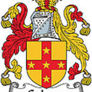 Galwey Coat Of Arms Irish Poster