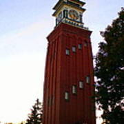 Gananoque Clock Tower Poster