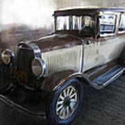 Gansgter Era Automobile Poster