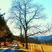 Gap Road Poster by Joyce Kimble Smith