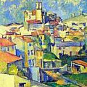 Gardanne By Cezanne Poster