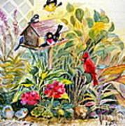 Garden Birds Poster