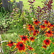 Garden Glimpse Poster