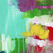 Garden Path- Abstract Expressionist Art Poster
