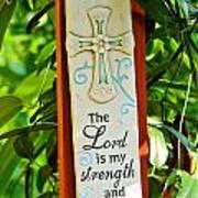 Garden Prayer Poster